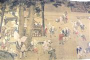 Sale 8869 - Lot 94 - A Chinese Scroll Depicting Children in The Garden
