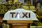 Sale 8013 - Lot 1067 - Taxi Cab Light