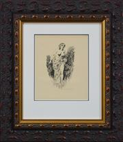 Sale 8188A - Lot 35 - Norman Lindsay (1879 - 1969) After. - Circe and Encolpius, 1927 21 x 16cm