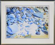 Sale 8374 - Lot 504 - Brian Stratton (1936 - ) - Bateau Bay, 1944 55.5 x 74cm