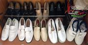 Sale 8369A - Lot 391 - A quantity of quality mens shoes, mainly loafers, US size 10
