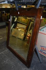 Sale 8410T - Lot 2080 - Framed Wooden Edwardian Mirror
