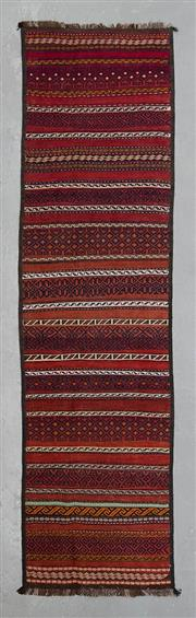 Sale 8499C - Lot 3 - Persian Kilim 290cm x 74cm