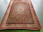 Sale 8550 - Lot 1214 - Persian Machine Made Woollen Rug - some fraying to edges (245 x 170cm)