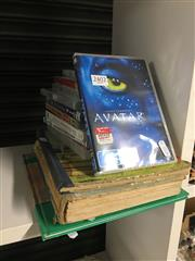Sale 8702 - Lot 2402 - 4 Childrens Story Books incl Grimms Fairy Stories Juvenile Productions, London, ill AE Kennedy  with a Collection of CDS