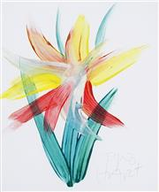 Sale 8732 - Lot 575 - Kevin Charles (Pro) Hart (1928 - 2006) - Floral Study 23 x 19.5cm