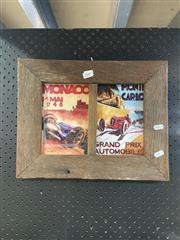 Sale 8927 - Lot 2082 - Rustic Framed Monaco And Monte Carlo Prints (1)