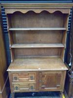 Sale 7922A - Lot 1193 - Oak Buffet & Hutch