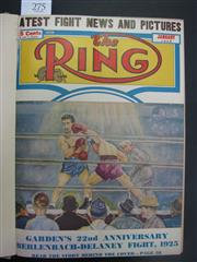 Sale 8125 - Lot 76 - The Ring 1948, a complete bound set of 12 issues with covers.
