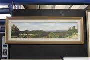 Sale 8113A - Lot 16 - Roy McWilliam (XX) - Capertee Valley 29 x 121cm