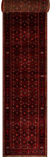 Sale 8424C - Lot 97 - Persian Husinadad Runner 500cm x 85cm