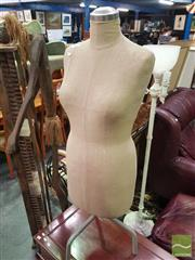 Sale 8495F - Lot 1022 - Dressmakers Mannequin on Stand