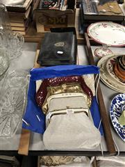 Sale 8797 - Lot 2445 - 6 Ladies Clutch Purses & 2 Mens Grooming Kits a/f