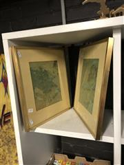 Sale 8824 - Lot 2095 - Pair of Chinese Decorative Prints