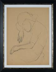 Sale 8908A - Lot 5047 - Desiderius Orban (1884 - 1986) - Sleeping Woman, 1953 61 x 47 cm