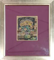 Sale 8973 - Lot 2006 - Artist Unknown Still Life pastel on paper, 64 x 54cm (frame), signed lower right under mount -