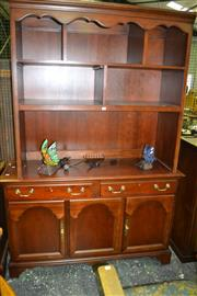 Sale 8093 - Lot 1551 - Drexal Open Bookcase w Cabinet Base (060806, 063339)