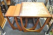 Sale 8287 - Lot 1016 - Good G-Plan Teak Nest of Tables