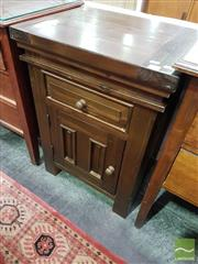 Sale 8532 - Lot 1052 - Timber Bedside Cabinet