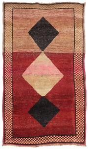 Sale 8725C - Lot 25 - A Persian Lori Carpet, Hand-knotted Wool, 146x102cm, RRP $2,400