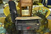 Sale 8013 - Lot 1068 - 1943 Ammo Box & Coal Scuttle