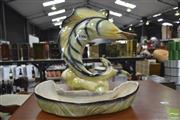 Sale 8275 - Lot 1028 - Breaching Marlin Pin Dish by Diana