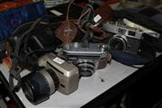 Sale 8362 - Lot 2424 - Konica Camera with Others incl Praktica