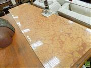 Sale 8465 - Lot 1609 - Large Piece of Rouge Marble (170 x 48)