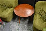Sale 8465 - Lot 1684 - Round Occasional Table
