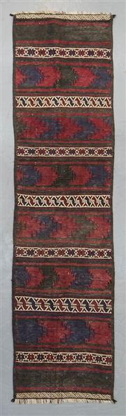 Sale 8499C - Lot 5 - Persian Kilim 274cm x 72cm