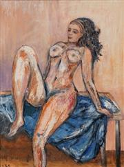 Sale 8707 - Lot 2081 - Stanley Perl (1954 - ) - Seated Nude 61 x 46cm