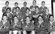 Sale 8764 - Lot 71A - Manly Rugby Union Team, 1959 - 18 x 28cm