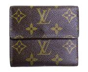 Sale 8888H - Lot 71 - A vintage French Louis Vuitton wallet purse closed size  11 x 10 x 3 cm