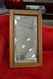 Sale 8117 - Lot 981 - Small Footstool and Mirror