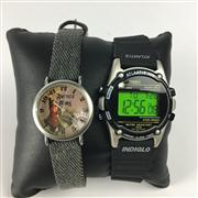 Sale 8283B - Lot 100 - A TIMEX DIGITAL AND A NARNIA QUARTZ WATCH, new in boxes, 1 needing battery.