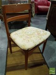 Sale 8532 - Lot 1071 - Set of 4 Nathan Teak Dining Chairs