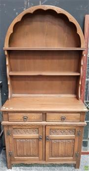 Sale 8611 - Lot 1014 - Small Sideboard with Hutch