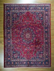 Sale 8617C - Lot 2 - Persian Mashad 393cm x 297cm