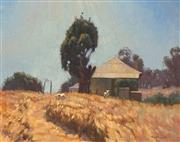 Sale 8699 - Lot 2048 - Tim Miller - Goats on Hill, 29 x 37cm