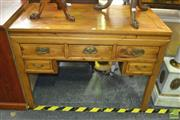 Sale 8312 - Lot 1021 - Oriental Five Drawer Cabinet