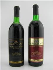 Sale 8439W - Lot 765 - 2x Sandalford Wines Cabernet Sauvignon - 1x 1979 Margaret River, 1x 1986 Caversham Estate Swan Valley