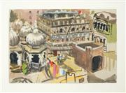 Sale 8449A - Lot 586 - Wendy Sharpe (1950 - ) - India 18 x 26cm