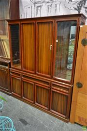Sale 8566 - Lot 1400 - Chiswell Wall unit with Eight Doors and Three Drawers