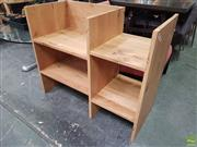 Sale 8637 - Lot 1085 - Timber Open Bookshelf