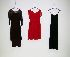Sale 3741 - Lot 1081 - Four chiffon dresses,