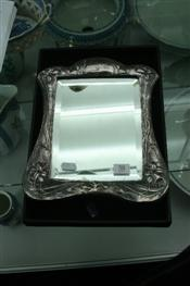 Sale 7877 - Lot 58 - HMS Silver Framed Mirror