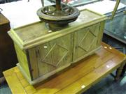 Sale 7932A - Lot 1130A - Timber 2 Door Cabinet