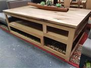 Sale 8637 - Lot 1016 - Tiered Timber Coffee Table