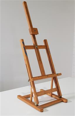Sale 9210 - Lot 1041 - Timber table top easel