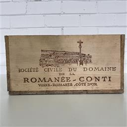 Sale 9257W - Lot 985C - French Timber Wine Box for 1985 DRC Assortment
